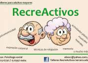 Talleres recreativos/ reflexivos para adultos