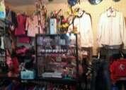Vendo fondo comercio completo con ropa y todo