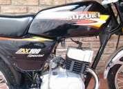 Vendo suzuki ax 100 igual a 0km solo 500km!! tomo moto financio