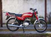 Vendo suzuki ax 100 special modelo 2007 titular único dueño