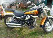 Vendo motomel custom 200cc