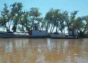 Barco de carga y con matricula de trabajo,consultar!