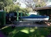 Vendo campanilli 4.40 con mercury 40 hp y trailer zincado