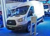 Nueva transit furgon anticipo $250.000,aproveche ya!