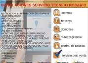 servicio tecnico instalacion sistemas seguridad rosario