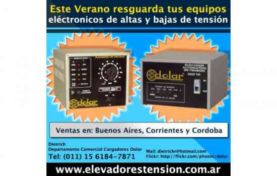 Estabilizador automatico de tensión electrotec de 6 kva.