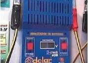 Probador de baterias con sistema de descarga 200a