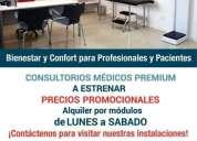 Alquiler consultorios medicos premium