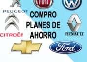 Compro autoplanes/planes de ahorro todas las marcas