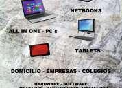 Servicio técnico, reparación de notebook, pc, netbook, all in one  caballito, almagro, villa cresp