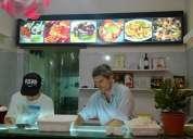 Excelente local de sushi, funcionando, totalmente equipado