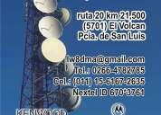 M31 radios fm torres antenas dipolos mastiles internet instalacion venta