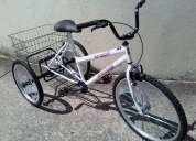 Gratis para un hombre que sufre acv, una bicicleta tipo triciclo, haver si se puede movilizar