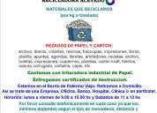Compro papel archivo fotocopias libros revistas diarios recicladoracevedo