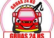 Servicios de gruas 15-3605-1774 las 24 hs.