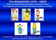 Pulverizadores manuales y de compresión previa - efac y giber
