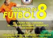 Torneos de futbol 5 7 8 9