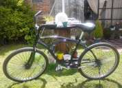 bicicleta playera multirayos negra