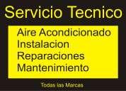 Instalación aire acondicionado service y mantenimiento  en pilar  15-2024-5064