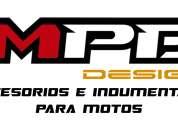 Fábrica y venta de accesorios e indumentaria para motos