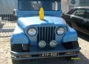 Jeep ika modelo 1973 4x2 con motor chevrolet,contacatrse!