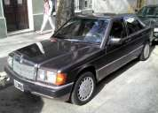 Vendo mercedes benz 190 d 2.5 1991