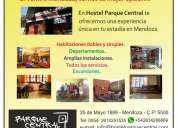 Alojamiento en Mendoza  turístico