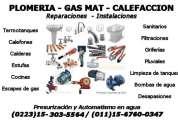 Guillermo plomeria gas calefaccion