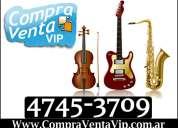 Compra venta de instrumentos musicales compro vendo instrumento musical 4745-2606