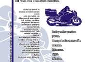 Mv mensajería (servicio en moto de mensajería empresarial)