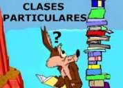 clases particulares de quÍmica, fÍsica, matemÁtica, otras.