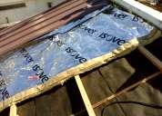 Techista!!! reparacion y mantenimientos! en tejas,  chapas, losa, y membrana,