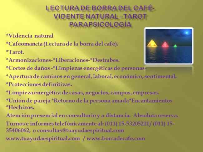 LECTURA DE BORRA DEL CAFÉ-ABRE CAMINOS -VIDENTE