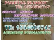 Puertas blindex reparacion te: 1554505747  urgencias y service ya ¡¡