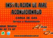 Carga de gas - aire acondicionado
