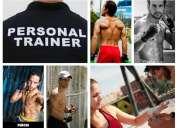 personal trainer - entrenador personal.