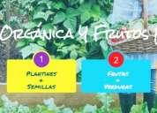 Semillas 100% organicas