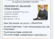 """Iglesia cristriana """"los vencedores del día postrero"""" - invitación especial"""
