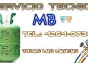 Tel.42649738 || carga de gas aire acondicionado split en lanus ||