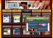 Dc studio webmaster * solución creativa en websites.