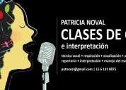 ANIMATE !! CLASES DE CANTO EN CABALLITO, PRIMER ECUENTRO SIN CARGO