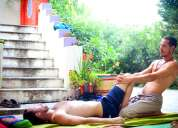 masajista masculino - masajes -tantra yoga para hombres