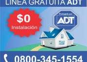 Adt argentina 0800-345-1554 - venta e instalación en todo argentina.