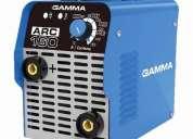 Soldadora inverter gamma 160 amp suelda hasta 4m nvo modelo