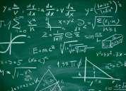 clases particulares de matemática, física y química. en capital federal. 15-5812-1051