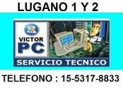 Servicio tecnico de pc y notebooks a domicilio en lugano 1 y 2