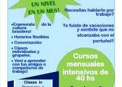 Aprende portugues en un mes. clases particulares en caba