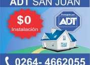 Alarmas adt en san juan 0264-4662055  - alarmas para el hogar y empresa