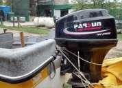 Oportunidad lancha trucker con 6 hs de uso,oportunidad!