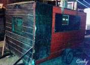 Excelente carro trailer de comidas rapidas